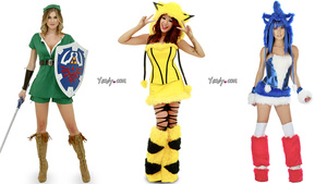 """Nothing Says Halloween Like """"Sexy"""" Video Game Costumes"""