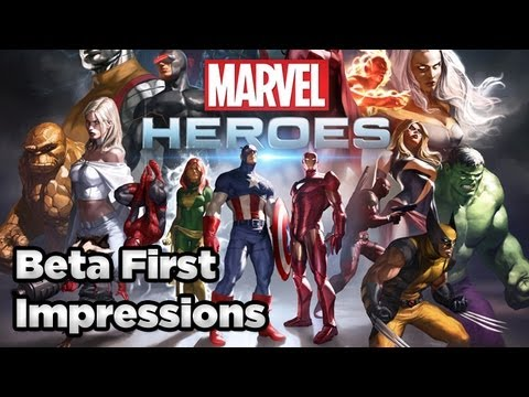 Marvel Heroes Beta First Impressions