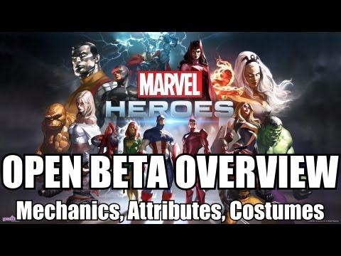 More In-Depth Marvel Heroes MMO Beta Information
