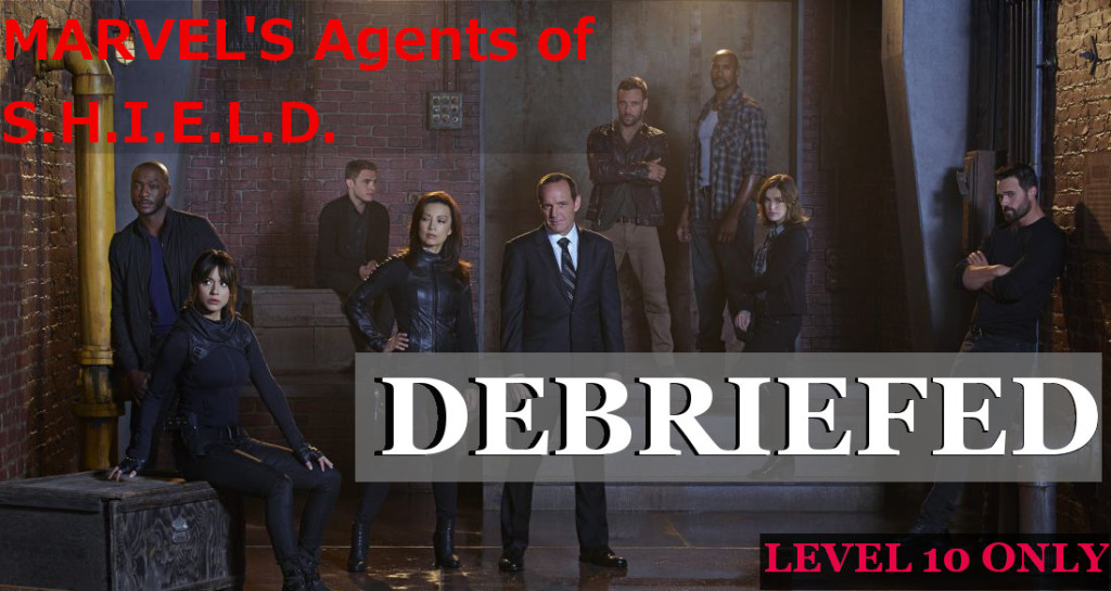 Marvel's Agents of SHIELD DEBRIEF Review Banner