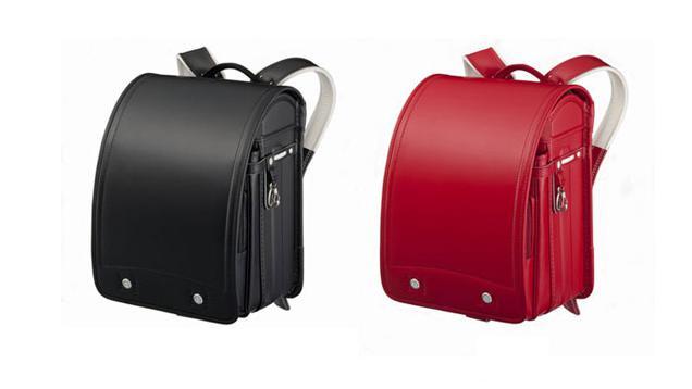 grade schoolers across japan carry leather backpacks called randoseru ...