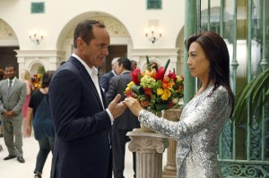 May and Coulson share a moment