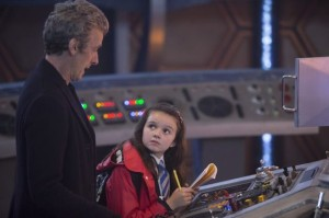 Hey, The Doctor was in the episode too!  The show is still named after him after all...and The Kid..Maebh