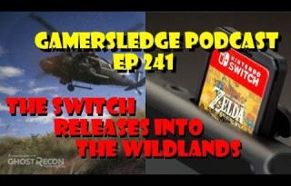Gamersledge Videocast, Vol 3 Ep. 241 – The Switch Releases into the Wildlands