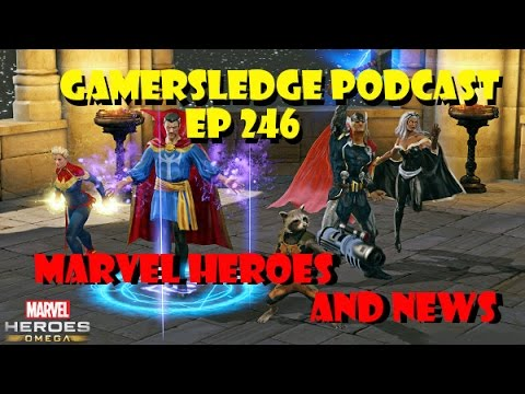 Gamersledge Videocast, Vol 3 Ep. 246 – Marvel Heroes and News